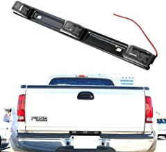 iJDMTOY Smoked Lens 3-Lamp Truck Rear Tailgate or Trailer LED Light Bar Compatible For Ford F-150 F-250 F-350 F-450 Dodge RAM 1500 2500 3500 Chevy Silverado, GMC Sierra, etc