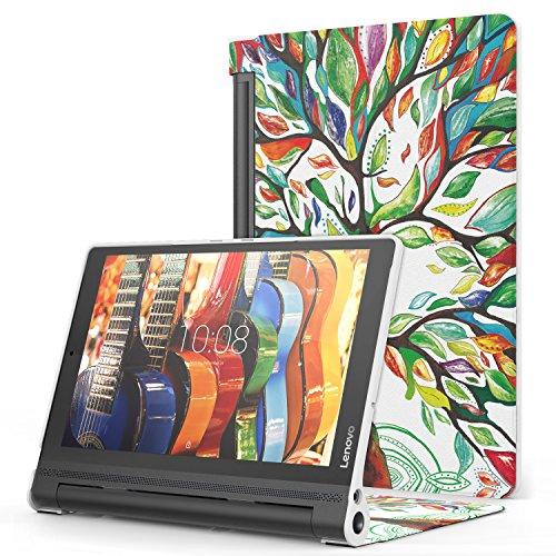 MoKo Lenovo Yoga Tab3 Plus 10.1 Funda - Premium Ultra Ligera Lightweight Shell Cover Case para Lenovo Yoga Tab 3 Plus (YT-X703F) 10.1 Pulgadas 2016 Tableta, Álbo de la Suerte
