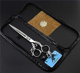 Professionele Straight Shears Pet Schaar 7,0 Inch 440C Stainless Steel Set, Sharp Kapper Scharen Salon En Familie Voor Ide...