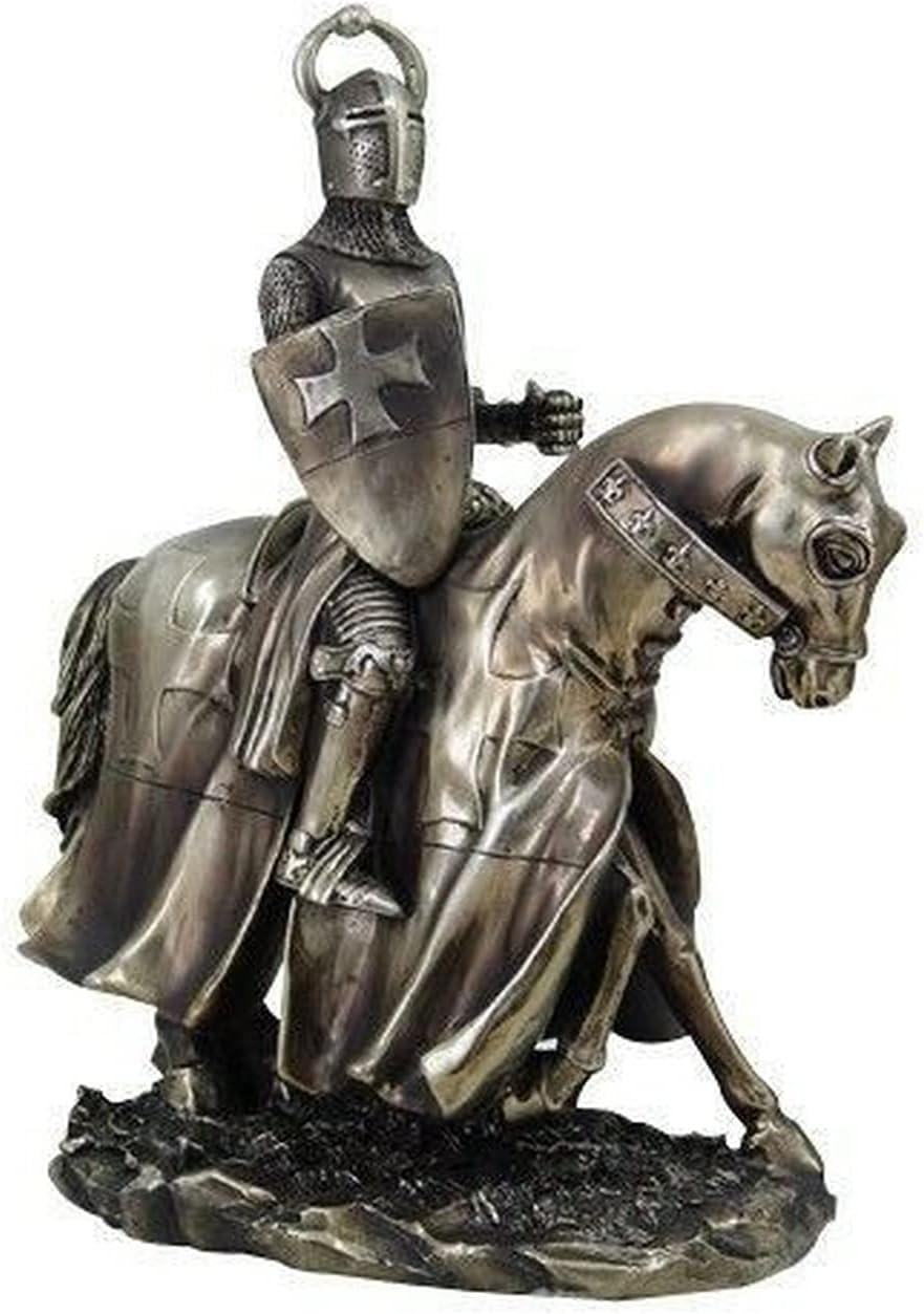 New Medieval Crusader Templar Bull On Popular brand Helmet Knight Horse Horns online shop
