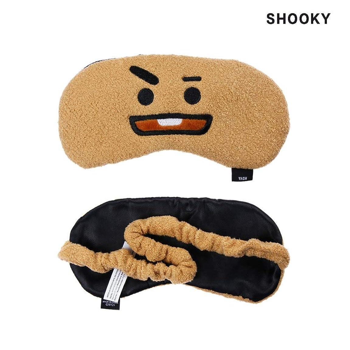 効能あるテンポビートNOTEかわいいアイマスクK-POP BTSバンタンボーイズレストスリープマスクBT21スガタタチミーRJクッキーアイシェードアイマスクパッチ睡眠ケアツール