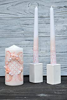 personalized unity candle sets for weddings