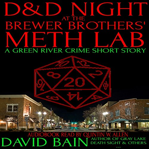 D&D Night at the Brewer Brothers' Meth Lab audiobook cover art