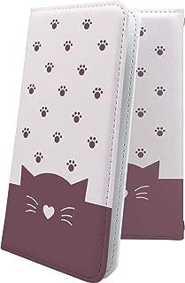 AQUOS R2 compact/SH-M09 ケース 手帳型 猫耳 ねこみみ ねこ 猫 猫柄 にゃー アクオスアール コンパクト アクオスアール2 アクオスコンパクト 手帳型ケース キャラクター キャラ キャラケース aquosr2 shm09 aquosr2compact ハート love kiss キス 唇