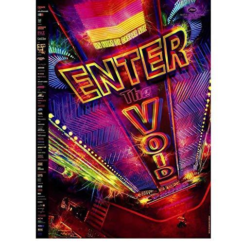 Película 2009 Gaspar NOE Pop Art Lienzo Pintura Decoración para el hogar Carteles e Impresiones Decoración de la Pared Decoración de la habitación Decoración de la Sala de Estar 60x80cm sin Marco