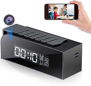 Cámara WiFi, Cámara Mini Reloj HD 1080P Cámara Inalámbrica con Detección Automática de 33FT y Visión Nocturna Admite Vista...