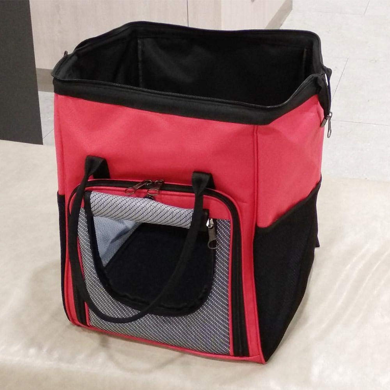 Aoligei Dualuse Shoulder Bag Out of Pocket Doggy Backpack Cat Backpack Oxford 30.5  29  41cm