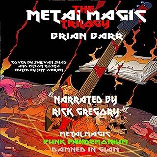 The Metal Magic Trilogy audiobook cover art