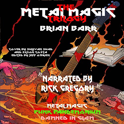 The Metal Magic Trilogy audiobook cover art