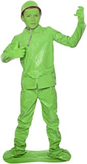 Morphsuits Saving Private Morph Green Toy Soldier Costume (Age 10 to 12), Large