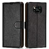 Case Collection Premium Leather Folio Cover for Xiaomi Poco