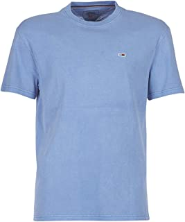 Tommy Jeans Men's TJM Overwashed T-Shirt, (Federal 432), Medium