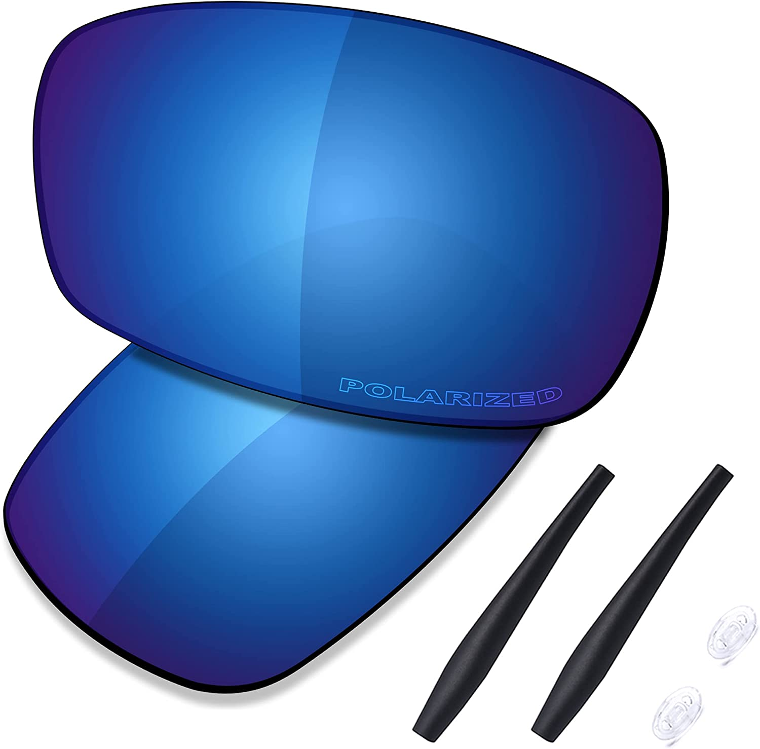 Saucer Max 49% OFF Premium Replacement low-pricing Lenses Rubber Oakley Cross Kits for
