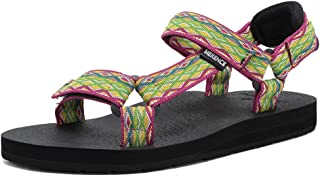 FANTURE Women's Arch Support Athletic Sandal Yoga Mat Insole Beach Shoes Outdoor Sports and Indoor