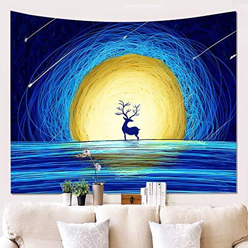 Pintura para el hogar tapiz de fondo de tela tapiz decoración de la pared tamaño de la manta tela de fondo del hogar de fantasía a3 73x95 cm