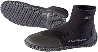 NeoSport Wetsuits Premium Neoprene 3mm Low Top Pull On Boot