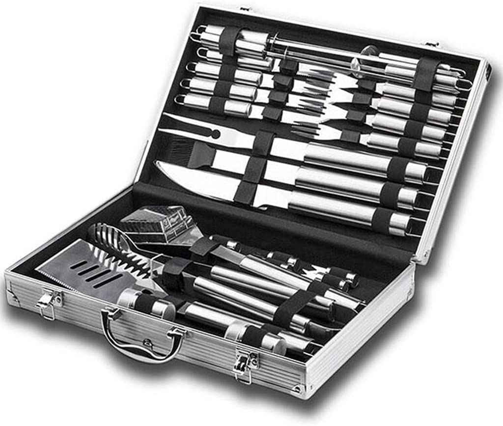 Stainless Steel Over item handling ☆ BBQ Grill Tool Popular 26-Piece Set Comple A