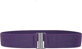 moonsix Dress Belt for Women Wide Elastic Waist Belt Adjustable,Classic Cinch Belt Stretch Waistband