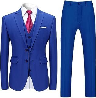 Amazon.es: Azul - Trajes / Trajes y blazers: Ropa