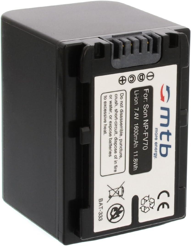 Ersatz Akku Np Fv70 Für Sony Hdr Cx360 Cx370 Cx550 Kamera