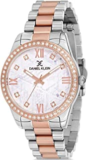 Daniel Klein Premium Ladies - White Dial Multicolor Band Watch - DK.1.12541-6