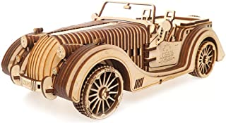 UGears Plywood Roadster VM-01 Collectible Model
