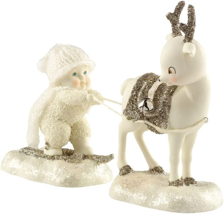 Department List price 56 Virginia Beach Mall Snowbabies 25th Anniversary Figur I'm Ready to Fly