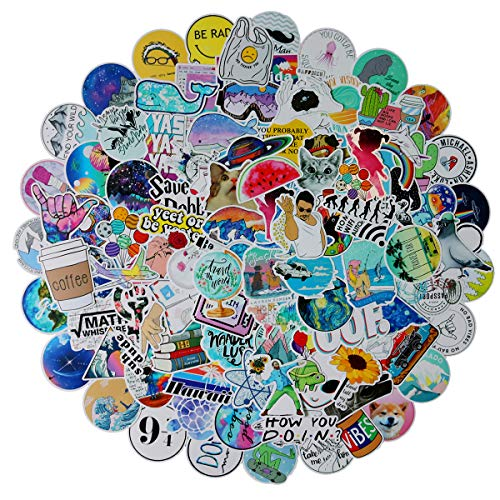 103PCS Network Popular Stickers Water Bottle Skateboard Motorcycle Phone Bicycle Luggage Guitar Bike Sticker Decal