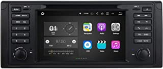 7 Inch TouchscreenAndroid 7.1 OS Car Radio Compatible with BMW M5 E39(1995-2003)/X5 E53(2000-2007), DVD Player Bluetooth D...