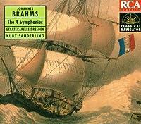Brahms: Symphonies No. 1-4: Classical Nav by Sanderling (2004-01-01)