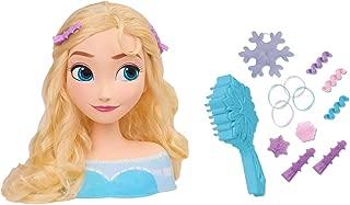 Smoby Frozen ELSA 7600320311 Hairdressing Head Multi-Coloured