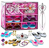 Toyvelt Princess Dress Up & Play Shoe And Jewelry Boutique (Includes 4 Pairs Of Shoes + Multiple...