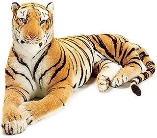 Burton & Burton Giant Plush Lying Tiger 8 Feet Long Great Mascot for Tiger Fans