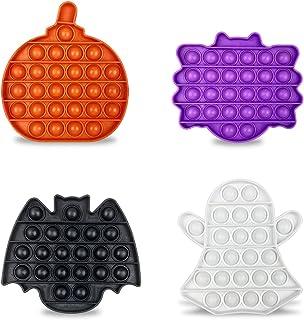 Jofan 4 بسته هالووین پاپ اسباب بازی پکیج اسباب بازی برای کودکان دختر بچه ها پسران جشن هالووین به نفع کیف های هالووین هدیه هدایای تسکین استرس
