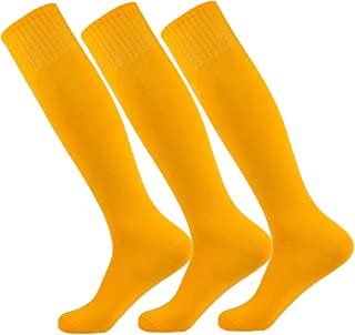 High Elastic Long Tube Compression Socks,MOAIR Colorful Classic Design Running Team Sports Soccer 2/3/4/6/10 Pairs