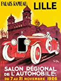Unbekannt Poster Lille Palais Zweige Wohnzimmer Automobil