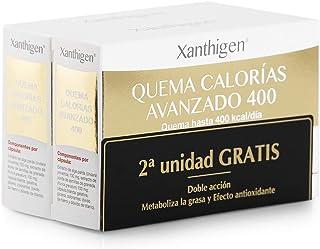 XL-S Medical Xanthigen Quema Calorías Avanzado 400, Quema 400 Kilocalorías al Día, Cápsulas Adelgazantes con Efecto Antioxidante - Pack 2 x 90 Cápsulas, 2 Meses de Tratamiento