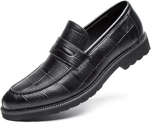 hombres Zapaños Oxford Zapaños de Boda de Negocios Agujero Malla Hecho a Maño Negocio Oxfords Calzaño de Hombre Zapaños de Vestir