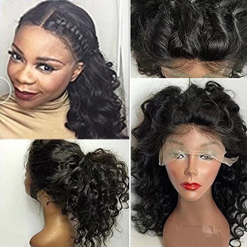 Human Wigs For Black Women Glueless Brazilian Perruque Cheveux Humain Full Lace Wigs Loose Body Wave Sans Colle 180% Density Lace Wigs with Baby Hair