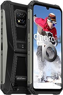 Rugged Smartphone Unlocked, Ulefone Armor 8 4GB + 64GB Android 10, 16MP Triple Waterproof Camera,...
