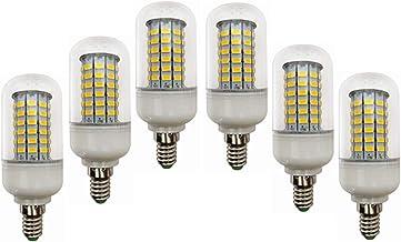 LED Light 12V 6-Pack E14 LED-lampen, Low Voltage 24V E14 Led Corn Lamp Base Ac / Dc12-60v, 10W Light Bulb - 60w Halogeen E...
