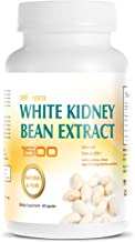 White Kidney Bean Extract -1500 Extreme Natural and Pure Carb Blocker - Appetite Suppressant - Starch Blocker - Advance Formula Garcinia Cambogia Apple Cider Vingar Chitosan - Prevents Fat