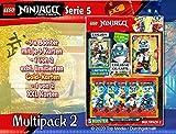 LEGO 0804997 Ninjago Serie V, Multipack 2, 5 Booster, Tarjeta Dorada Limitada y Tarjeta XXL