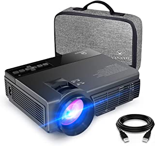 vankyo Leisure 3(Upgraded Version) 2400 Lux Mini Projector with 40000 Hours Lamp Life, LED Portable Projector Support 1080...