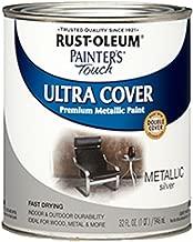 Rust-Oleum 254100 Painters Touch Quart Oil Based, Metallic Silver