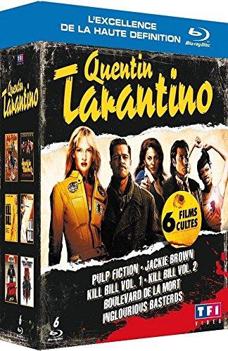 Quentin Tarantino : Coffret 6 films [Blu-ray]