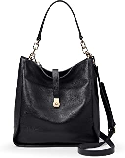 Genuine Leather Handbags for Women Soft Hobo Bag Supple Bucket Bag Totes Shoulder Handbags