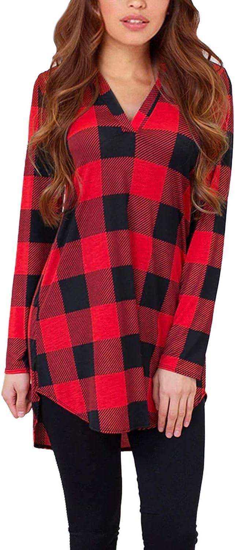ZANZEA Women's Shirts Casual Tie-Dye Tunic Shirt Long Sleeve Button Down Asymetrical Blouse Tops