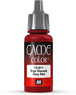 Vallejo Game Color Gory Red Paint, 17ml