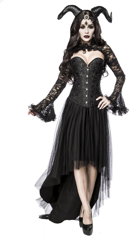 Mask Paradise Damen Gothic Queen Kostümset XL